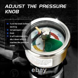 110V High Pressure 30MPa Electric PCP Air Pump Compressor Auto Shut Down 4500PSI
