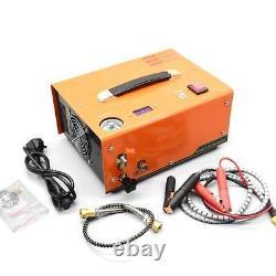 12V Portable 30MPA 4500PSI High Pressure Air Pump Scuba PCP Compressor Auto-Stop