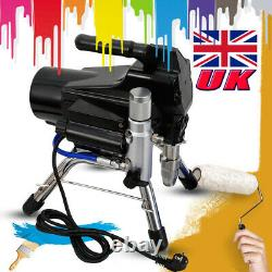 2200W High Pressure Airless Wall Paint Spray Gun Sprayer Spraying Machine 23Mpa