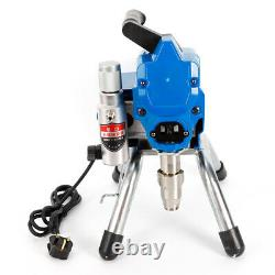2200W Wall Paint Sprayer Airless Spray Gun High Pressure Spraying Machine 23MPa