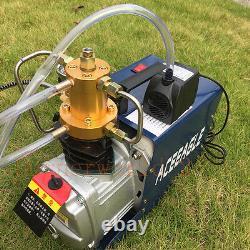 220V 30MPA 4500PSI High Pressure Air Compressor PCP Airgun inflat Scuba Air Pump