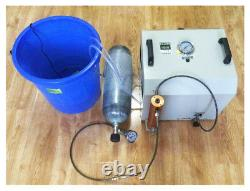 220V 30MPA Scuba Diving High-pressure Air Compressor Air Pump Machine 6.8L