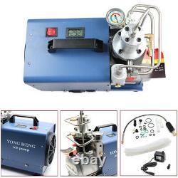 220V 30Mpa 4500psi PCP Electric Air Pump High Pressure Paintball Air Compressor