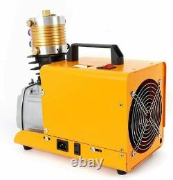220V 30Mpa Electric Compressor Air Pump PCP 4500PSI High Pressure Rifle 300BAR