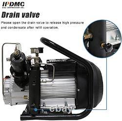 220V 4500psi High Pressure PCP Air Compressor 30 Mpa for Airgun Paintball Refil