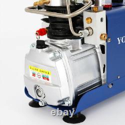 220V Auto Stop High Pressure 30Mpa Water Cooled Electric Air Compressor PCP Pump