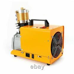 220V High Pressure Inflatable Air Pump Electric PCP Compressor Diving Set 40MPa
