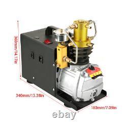 220v 1800W 40Mpa 2800R/MIN High Pressure Air Pump Electric Air Compressor