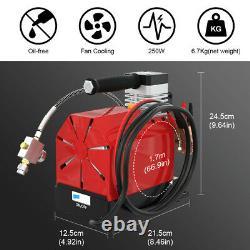 300Bar PCP Air Gun Rifle Compressor Electric Pump 30Mpa For Car 12V / Home 220V