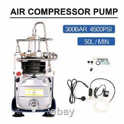30MPA 4500PSI Air Compressor Pump Airsoft Paintball Airgun Rifle High Pressure