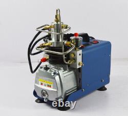 30MPA 4500PSI High Pressure Air Compressor Airgun Scuba Air Pump 1800W NEW US