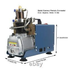 30MPA 4500psi 1800W High Pressure Electric Air Compressor Pump Industria l- UK