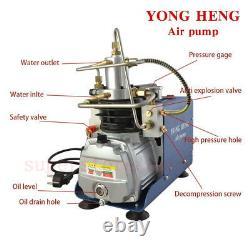 30MPA Air Compressor Pump PCP Electric 4500PSI High Pressure Water-Cooling 220V