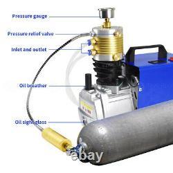 30MPA High Pressure Air Compressor Electric Air Gun Rifle PCP Pump 4500PSI New