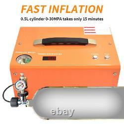 30MPA High Pressure Electric Air Pump Air Compressor Pump 4500PSI 12V/110V/220V