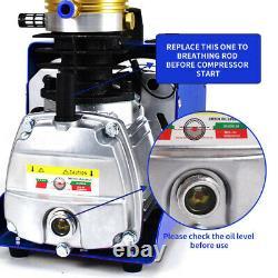 30MPA High Pressure Pump PCP Air Compressor Airgun Rifle Paintball 220V 1800W UK
