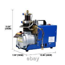30MPa 1800W Air Compressor Pump PCP Electric Airsoft Airgun High Pressure System