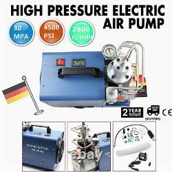 30MPa 300BAR High Pressure Electric Air Compressor Pump PCP System Rifle 2 Stage