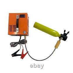 30MPa/4500psi Air Rifle Compressor Pump 12V/ 110V/ 220V High Pressure Portable