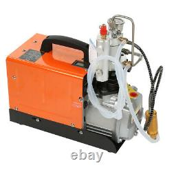 30MPa Air Compressor Pump 220V PCP Electric High Pressure System Rifle 2 motor
