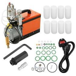 30MPa Air Compressor Pump Auto Stop PCP Electric High Pressure System Rifle 220V