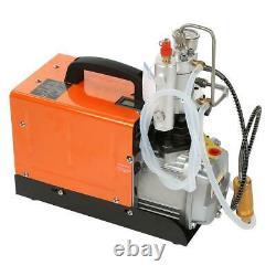 30MPa Air Compressor Pump Electric High Pressure System Rifle Set 220V UK Plug