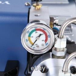 30MPa Air Compressor Pump PCP Electric High Pressure Airgun Scuba 4500PSI 220V