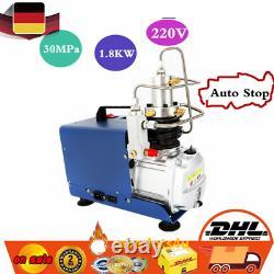 30MPa Electric Auto Stop Air Compressor Pump PCP 4500PSI High Pressure Rifle EU