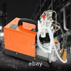 30MPa Electric Auto Stop Air Compressor Pump PCP 4500PSI High Pressure Rifle Set