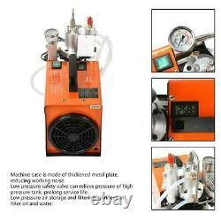 30MPa Electric High Pressure PCP Air Compressor Pump System Rifle 220V UK plug