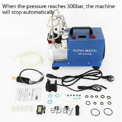 30MPa PCP Air Compressor Pump Electric 4500PSI High Pressure Oil Water Separator