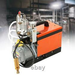 30Mpa/300Bar Air Electric Compressor Pump 220V PCP 4500PSI High Pressure Rifle