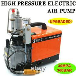 30Mpa 300bar 1.6KW Electric Air Pump PCP High Pressure Aintball Air Compressor