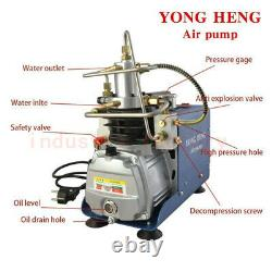 30Mpa 4500PSI High Pressure Air Pump PCP Compressor &Water-oil Filter Filtration