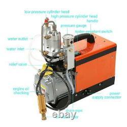 30Mpa Air Compressor Pump 220V PCP Electric 4500PSI High Pressure Rifle Machine
