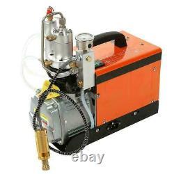 30Mpa Air Electric Compressor Pump 220V PCP 4500PSI High Pressure Rifle Set CE