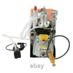 30Mpa Air Electric Compressor Pump PCP 4500PSI High Pressure Rifle 220V UK plug