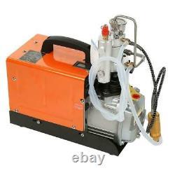 30Mpa Electric Air Compressor Pump PCP 4500PSI High Pressure Rifle CE UK plug