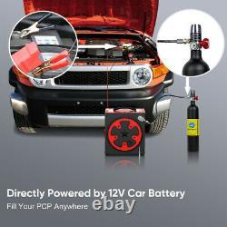 30Mpa High Pressure Air Pump PCP Air Compressor Auto-Stop DC12V AC110V/220