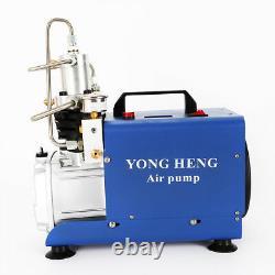 30Mpa High Pressure Electric Compressor Pump PCP Air Pump 220V AUTO Stop 1800W