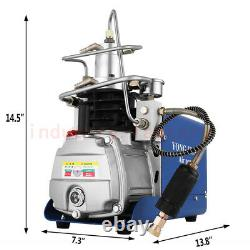 30Mpa High Pressure PCP Compressor Air Pump & Oil Water Separator Scuba Diving