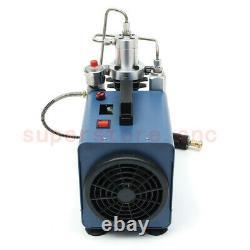 30Mpa Preset High Pressure Electric PCP Compressor Air Pump Scuba Diving 220V