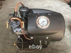 40Mpa Electric High Pressure Air Pump Double Cylinder Water Cooled Pump 220V tf