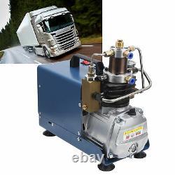 4500psi PCP Electric Air Compressor Pump High Pressure 30Mpa Air & Water Cooling