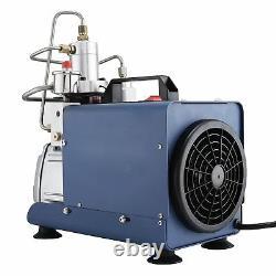 Adjustable Auto-Stop 30MPa High Pressure 110V Electric Air Compressor Rifle PCP