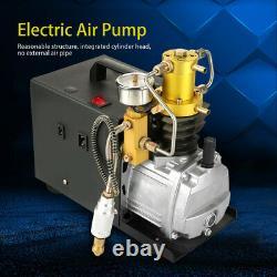 Air Pump Electric High Pressure Compressor 30MPa 300Bar 4500PSI 1800W 2800 R/min