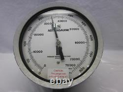 Astragauge high pressure gauge 75000 550 MPa 75,000 psi calibrated warranty