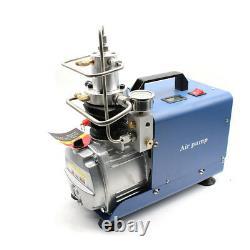 DHL 30MPa Air Compressor Pump Electric High Pressure System Rifle 220V Brand New