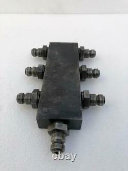 HIGH PRESSURE 1800 BAR 180 MPa HYDRAULIC DISTRIBUTOR/ MANIFOLD 7-PORT