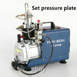 High Pressure Air Compressor 300BAR 30MPA 4500PSI Air pump Scuba Rifle Airgun
